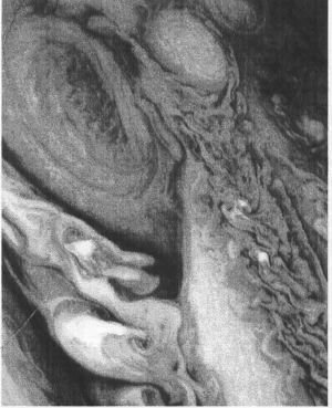 Jupiter-red Spot-bw1