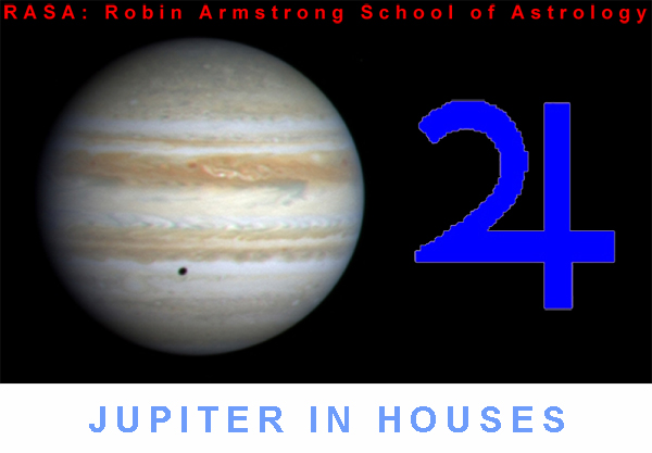 Jupiter in Houses - astrology education