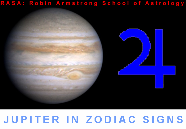 Jupiter in zodiac - astrology education
