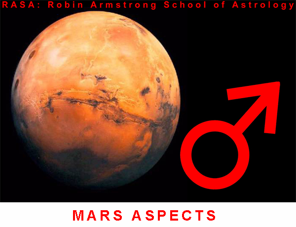 Mars aspects - Astrology courses