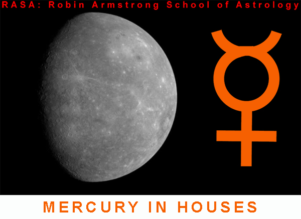 mercury in Houses - Learn astrology