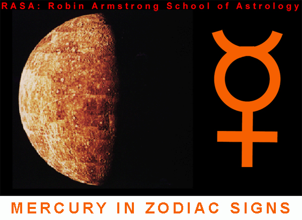 Mercury in Signs - astrology course