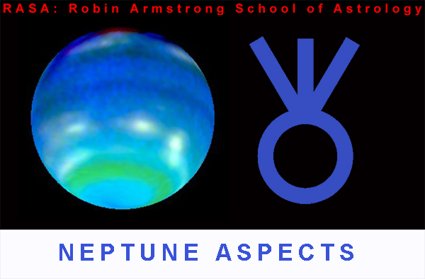 Neptune aspects - learning astrology