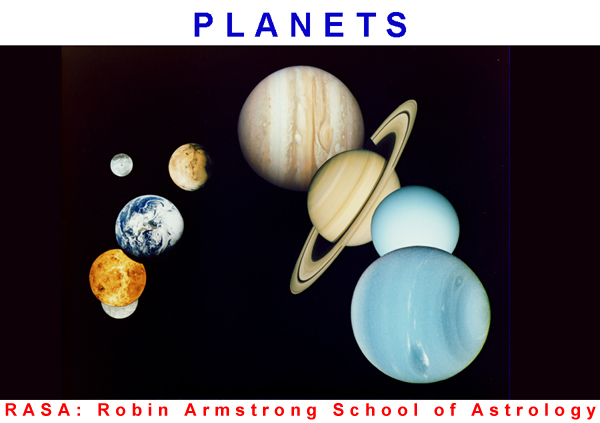 Planets - Studying astrology