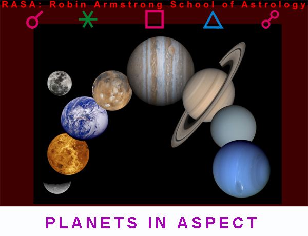Planets in Aspect - study astrology