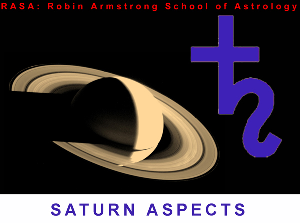 Saturn aspects - astrology school