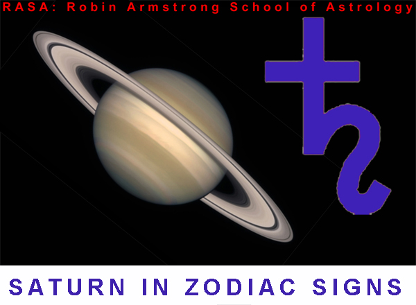Saturn in Zodiac - astrology courses