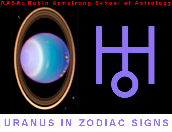 Uranus in Zodiac - astrology courses