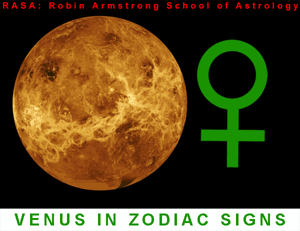 Venus in Signs - learn astrology