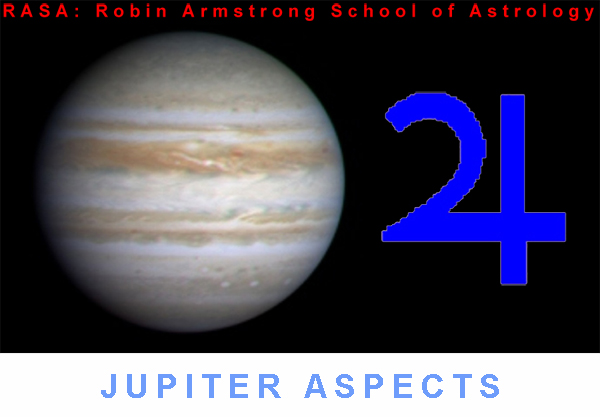 Jupiter aspects - astrology education