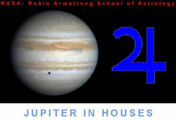 Jupiter in Houses - astrology education
