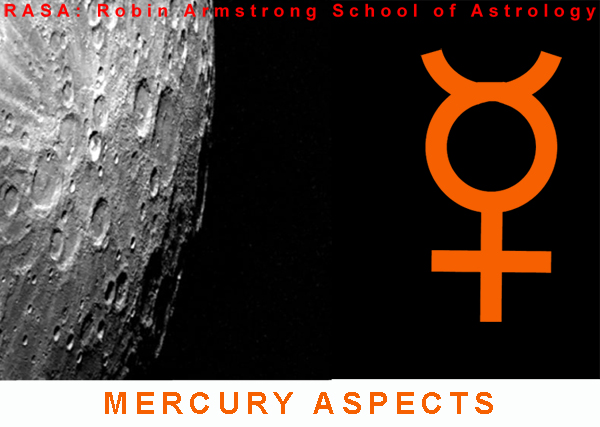mercury aspects - astrology lessons