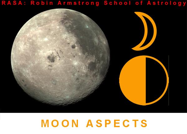 moon aspects - study astrology