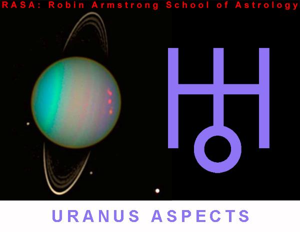 Uranus aspects - learn astrology