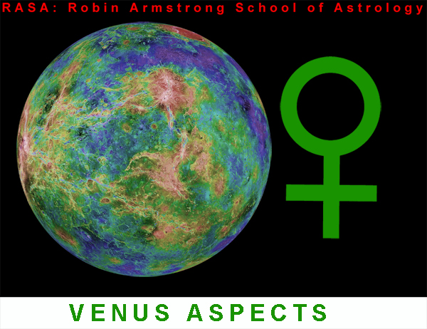 Venus aspects - astrology classes
