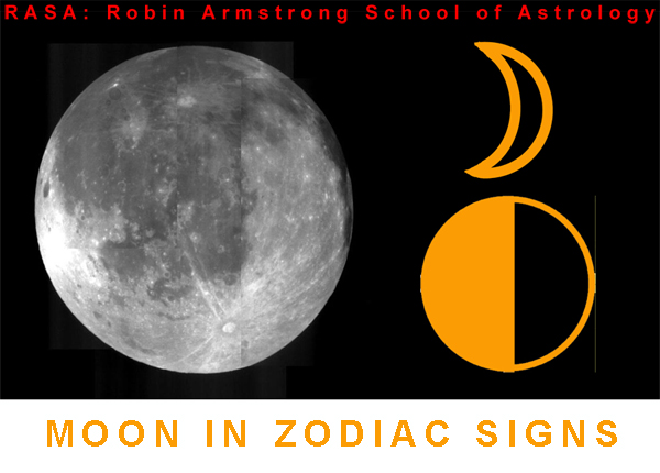 moon in zodiac - study astrology